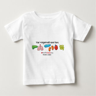 All orgnas baby T-Shirt