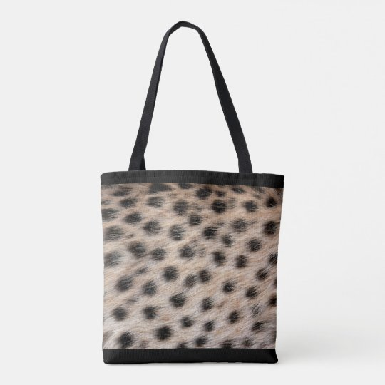 All-Over Cheetah Print Tote Bag