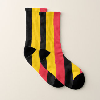 All Over Print Socks with Flag of Belgium