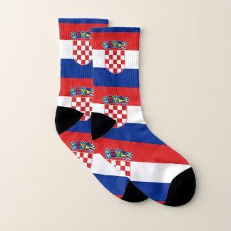 All Over Print Socks with Flag of Croatia
