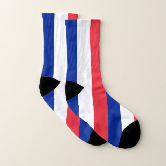 All Over Print Socks with Flag of France 1
