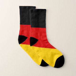 All Over Print Socks with Flag of Germany 1