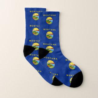 All Over Print Socks with Flag of Montana 1