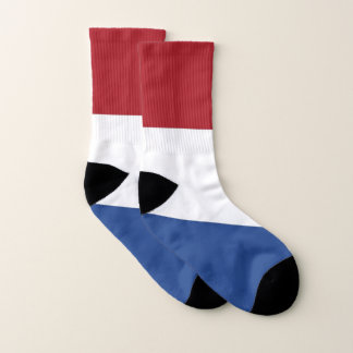 All Over Print Socks with Flag of Netherlands 1
