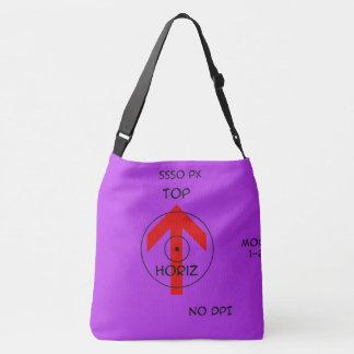 all over shoulder bag - horiz temp