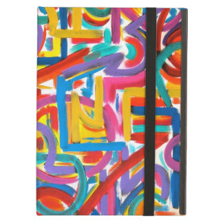All Paths Go There - Abstract Art Handpainted Cover For iPad Air