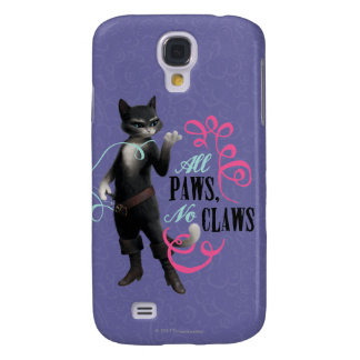 All Paws No Claws (color) Galaxy S4 Case