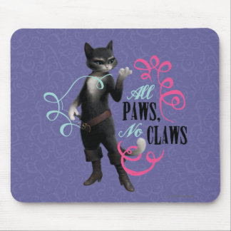 All Paws No Claws (color) Mouse Mat