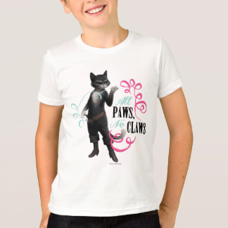 All Paws No Claws (color) T-Shirt