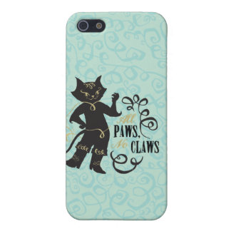 All Paws No Claws iPhone 5/5S Cover