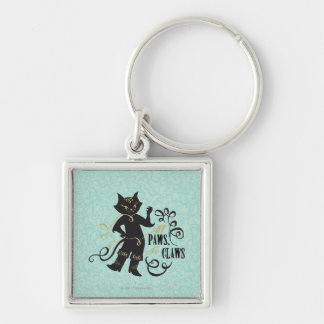 All Paws No Claws Key Ring