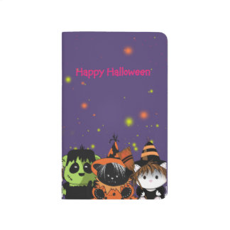 ALL PETS HALLOWEEN CARTOON Pocket Journal