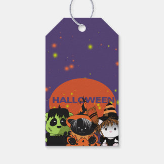 ALL PETS MONSTERS HALLOWEEN  GIFT TAG