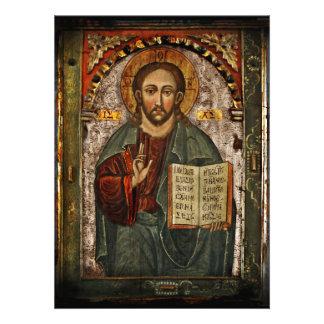 All Powerful Christ - Chrystus Pantokrator Invitation
