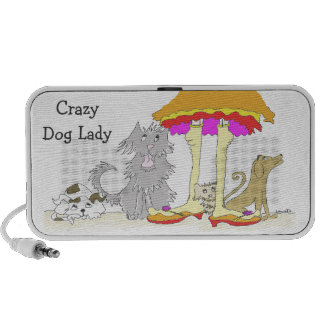 All Proceeds to Animal Charity Crazy Dog Lady Mp3 Speaker