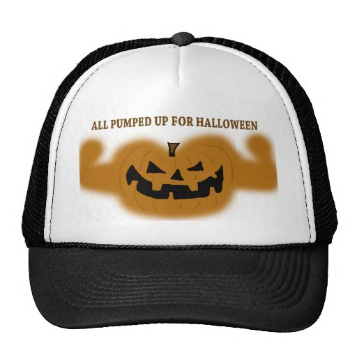 All Pumped Up For Halloween Hat
