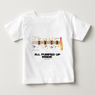 All Pumped Up Inside (Sodium-Potassium Pump) Baby T-Shirt