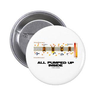 All Pumped Up Inside (Sodium-Potassium Pump) 6 Cm Round Badge