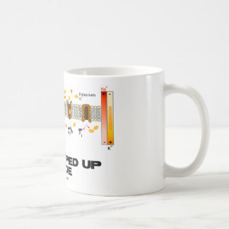 All Pumped Up Inside (Sodium-Potassium Pump) Basic White Mug