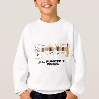 All Pumped Up Inside (Sodium-Potassium Pump) Sweatshirt