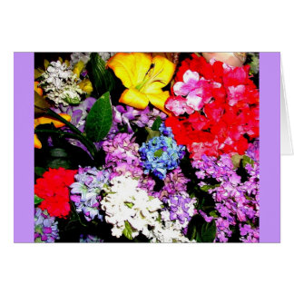 ALL PURPOSE FLORAL GREETING GREETING CARD
