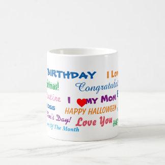 All Purpose Gift Mug! Basic White Mug