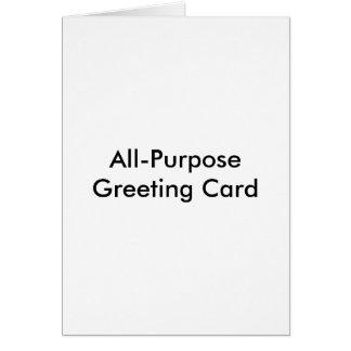 All-Purpose Greeting Card