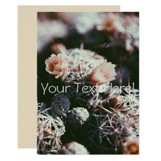 All Purpose Personalized Cactus Invitation Card