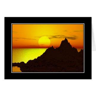 All Purpose Sunset Card Card