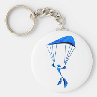 ALL REGIONS SKYDIVING BASIC ROUND BUTTON KEY RING