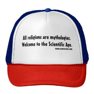All religions are mythologies. cap