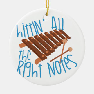 All Right Notes Christmas Ornament