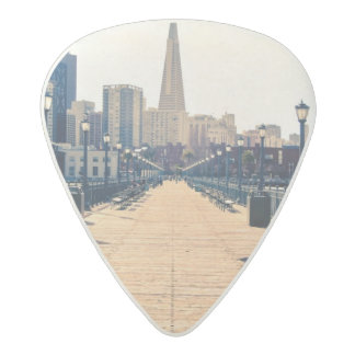 All roads lead to pyramid. acetal guitar pick