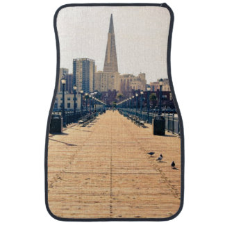 All roads lead to pyramid. car mat