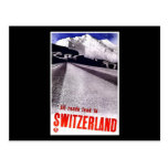 All Roads Lead To Switzerland Postcard