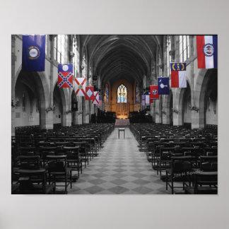 All Saints Chapel, University of The South Print