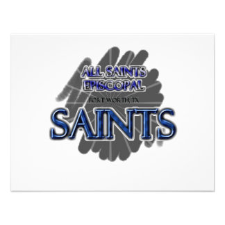 All Saints Episcopal SAINTS - Fort Worth TX Personalized Invites