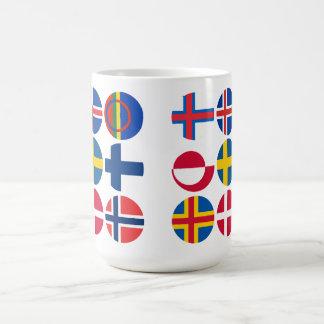 All Scandinavian Flags Mug