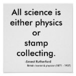 All science is either physics or stamp collecti...