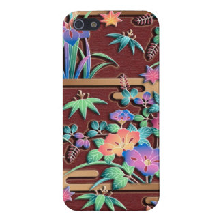 All seasons flowers case for the iPhone 5