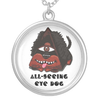 All-Seeing Eye Dog Necklaces