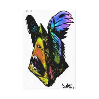 ALL SEEING EYE - lmtd edit DMT SPIRITUAL GRAFFITI Gallery Wrap Canvas