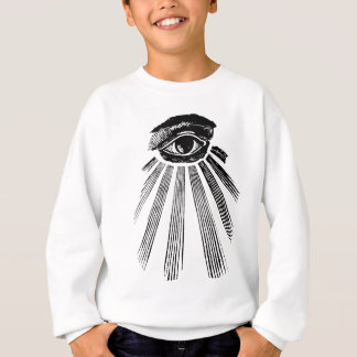 All Seeing Eye NWO Illuminati New World Order Sweatshirt