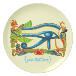 All Seeing Eye Of Horus Party Plates