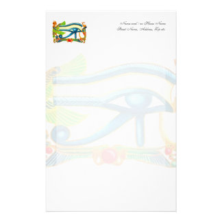 All Seeing Eye Of Horus Stationery