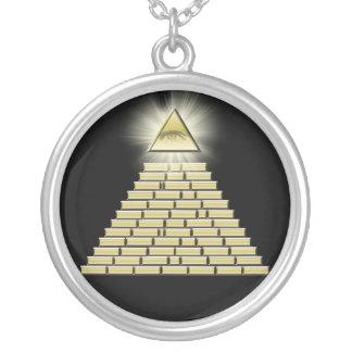 All Seeing Eye Pyramid 2 Pendant