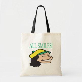 All Smiles Budget Tote Bag