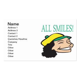 All Smiles Pack Of Standard Business Cards