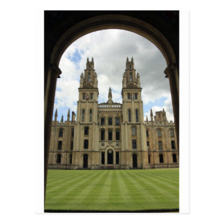 All Souls College Oxford Post Card