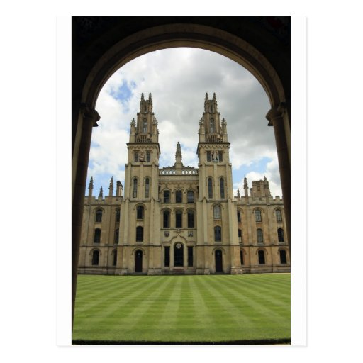 All Souls College, Oxford Post Card
